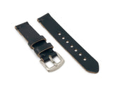 Standard Watch Strap with Black Chromexcel Leather