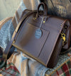 The Southland Messenger | Conceria Dollaro Dark Brown