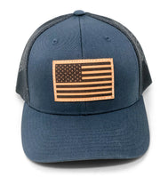 USA Flag Hat - Blue