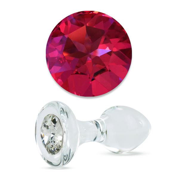 Plug diamant rose
