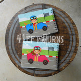 Child's Racing Themed Autograph Book Boy or Girl