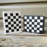 Mini Wood Block Signs