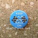 Racing Magnets and Pin Back Buttons - Everything Else - 4 Left Turns - 3