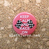 Racing Magnets and Pin Back Buttons - Everything Else - 4 Left Turns - 5