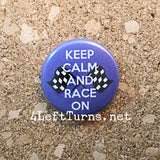 Racing Magnets and Pin Back Buttons - Everything Else - 4 Left Turns - 6