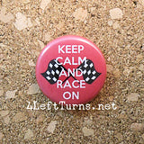 Racing Magnets and Pin Back Buttons - Everything Else - 4 Left Turns - 7