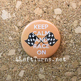 Racing Magnets and Pin Back Buttons - Everything Else - 4 Left Turns - 8
