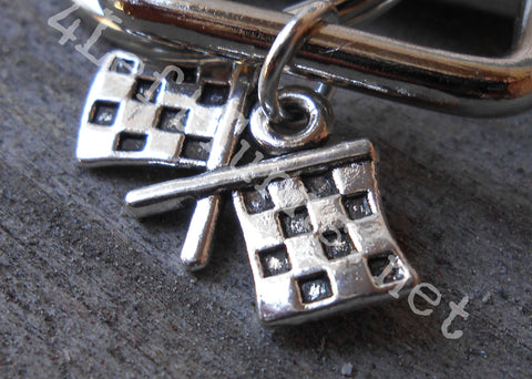 Checkered Flag Charm