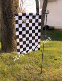 4 Left Turns Racing Garden Flags