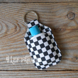 Checkered Product Holder Key Ring