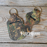 Seasonal Travel Bottle Lip Balm Holder Holder Key Ring