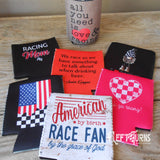 Racing Themed Can Cooler Drink Holder