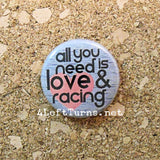 Racing Magnets and Pin Back Buttons - Everything Else - 4 Left Turns - 20