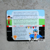 Personalized Dry Erase Handwriting Marker Board Boy or Girl