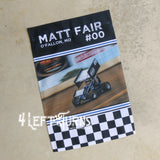 Custom Photo Personalized Racing Garden Flag