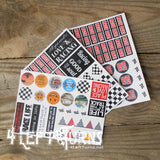 Original Racing Planner Stickers