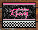 Custom Personalized Racing Welcome Mat