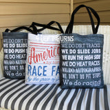 4 Left Turns Racing Tote Bags