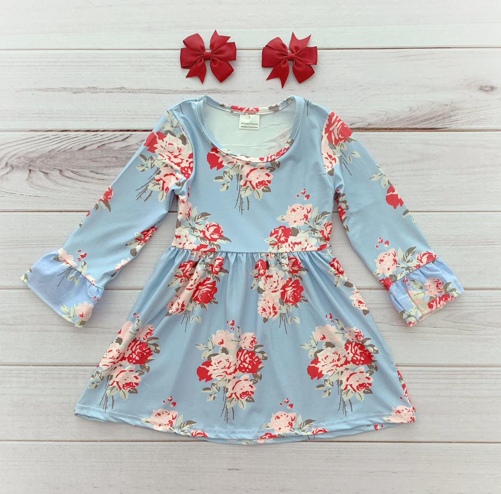 """Anna Grace"" Floral Boutique Dress"