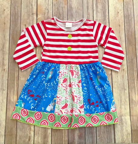 """Joy to the World"" Christmas Dress {Limited}"