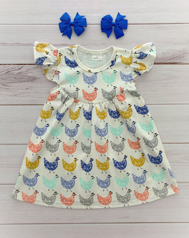 Sweet Chicken Pearl Dress