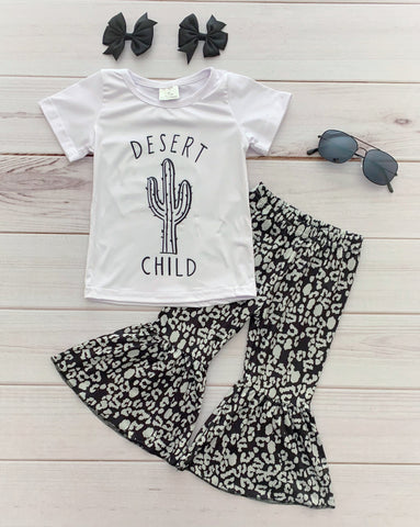 """Desert Child"" Bell Bottom Pant Set"