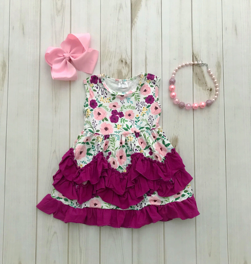 """Emerson"" Ruffle Boutique Dress"