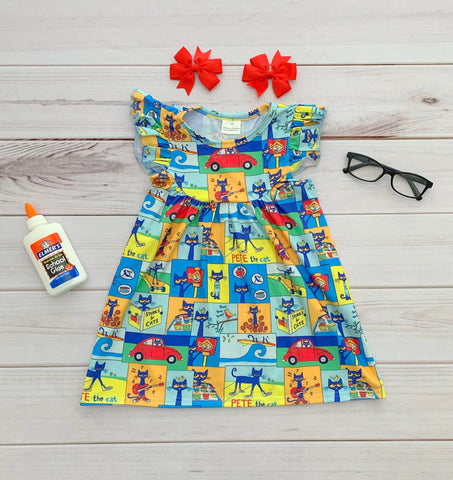 """Pete the Cat"" Pearl Dress"