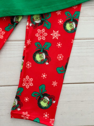 The Grinch Pant Set