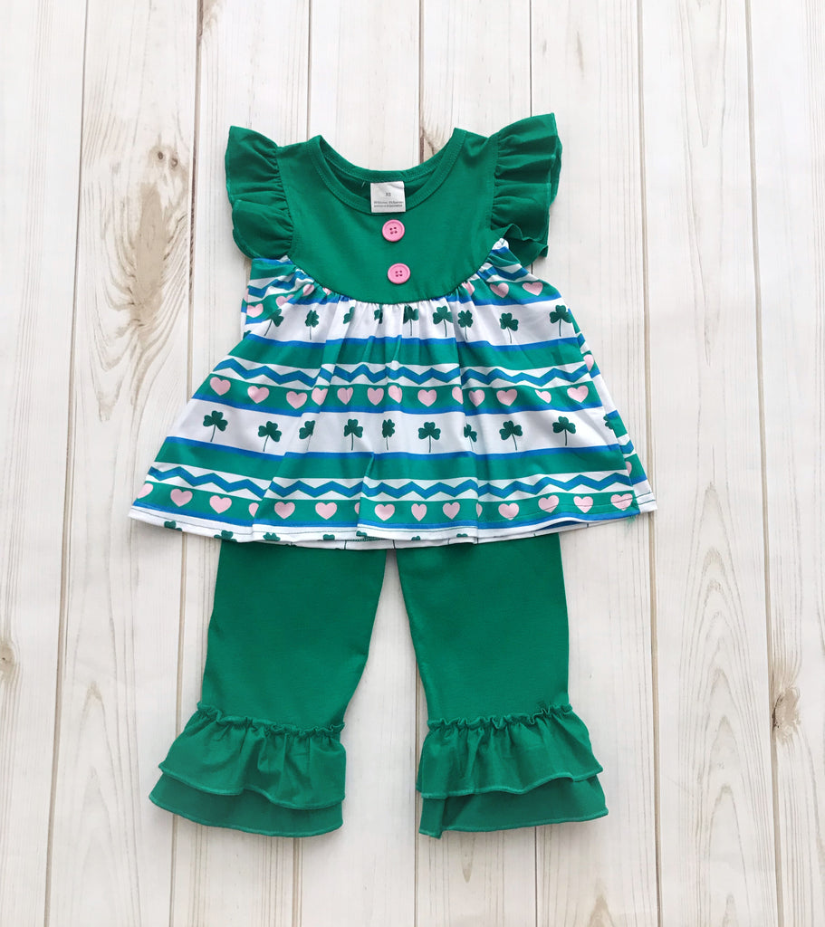 St. Patty's Day Boutique Outfit {LIMITED}