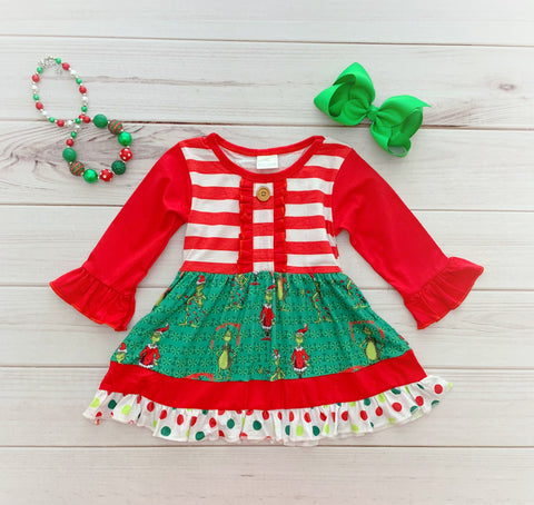 The Grinch Boutique Dress {EXCLUSIVE}