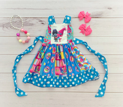 """Dance Hug Sing"" Twirl Dress"