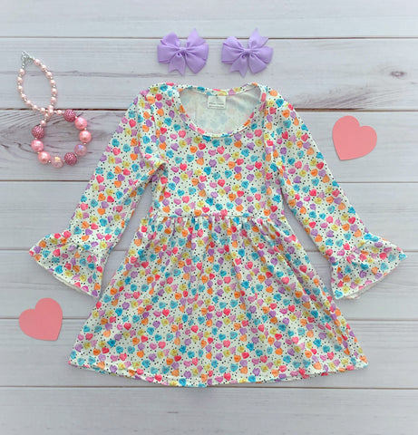 Conversation Hearts Valentine's Dress