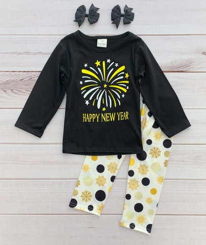 Happy New Year Boutique Outfit