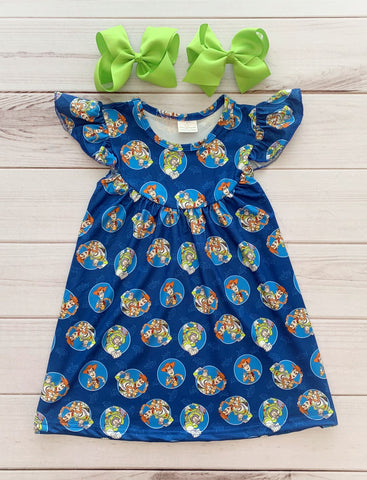"""Woody & Buzz"" Pearl Dress"
