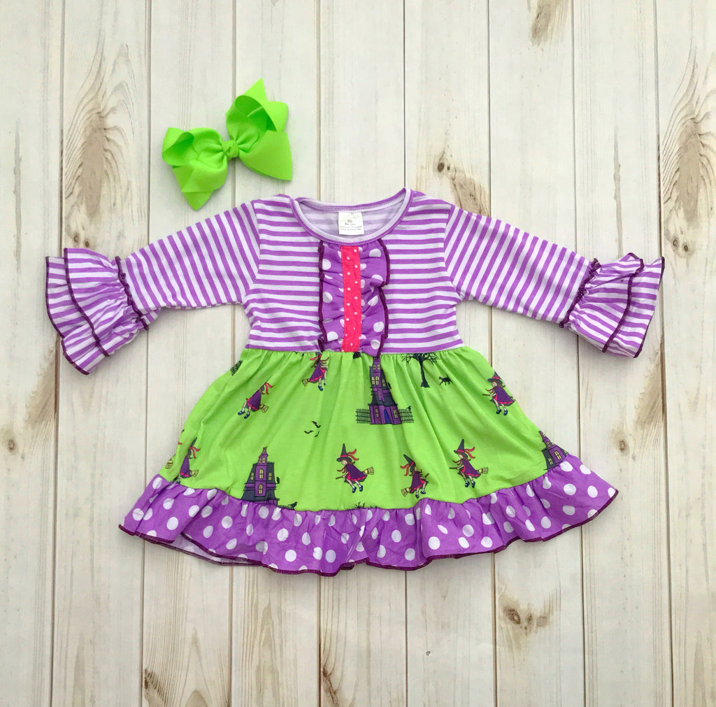 Halloween Witch Dress {Limited}