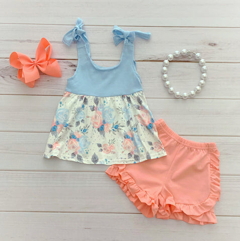 """Lyla Grace"" Boutique Short Set"