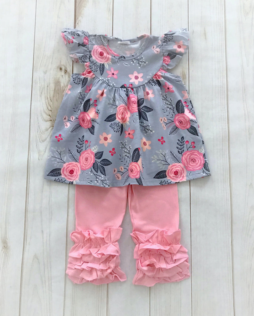 """Caroline"" Floral Boutique Outfit {LIMITED EDITION}"
