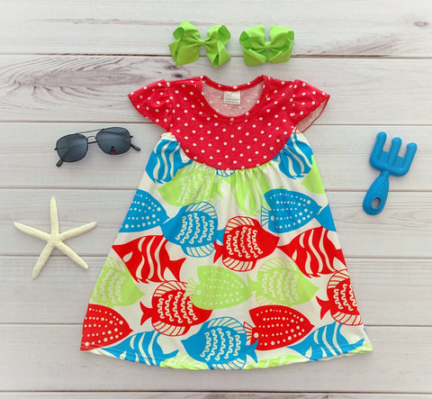 Tropical Fish Pearl Dress