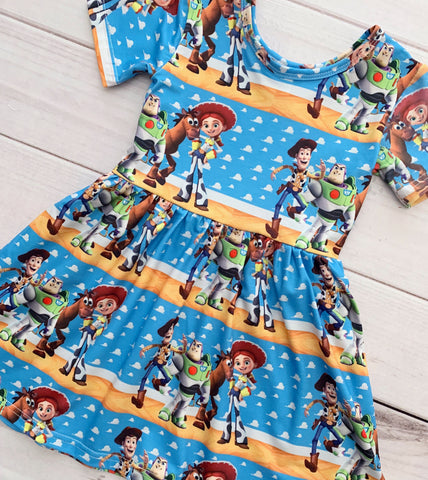 Toy Story Twirl Dress {Limited}