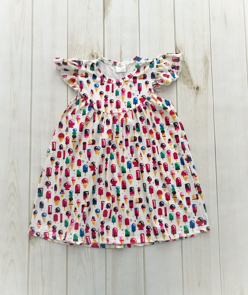 """Ice cream & Popsicles"" Pearl Dress"