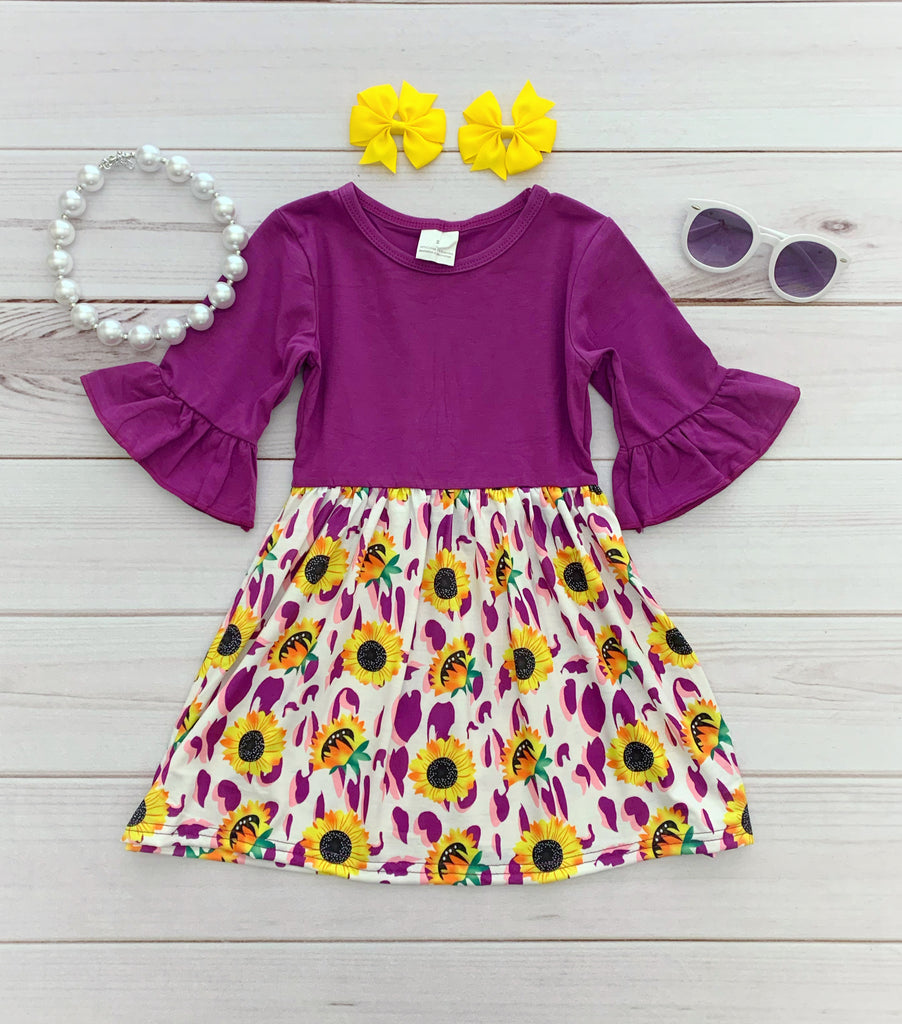 Sunflower Harvest Boutique Dress {Limited}