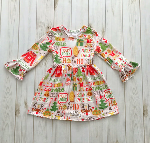 """All Things Christmas"" Boutique Dress *TWO per customer*"