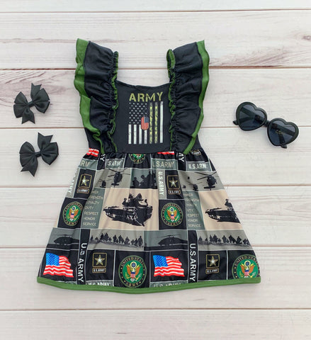 U.S. Army Boutique Dress