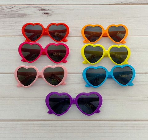 Heart Eye Sunnies - many colors!
