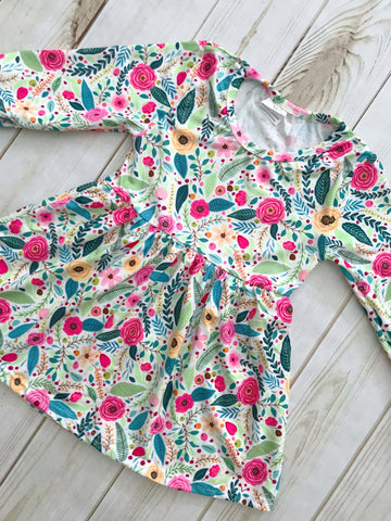 """Georgia"" Floral Boutique Dress"