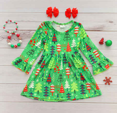 Christmas Tree Boutique Dress