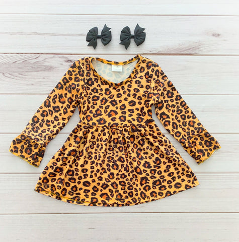 """Wild Cat"" Boutique Dress"