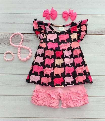 Piglet Boutique Short Set
