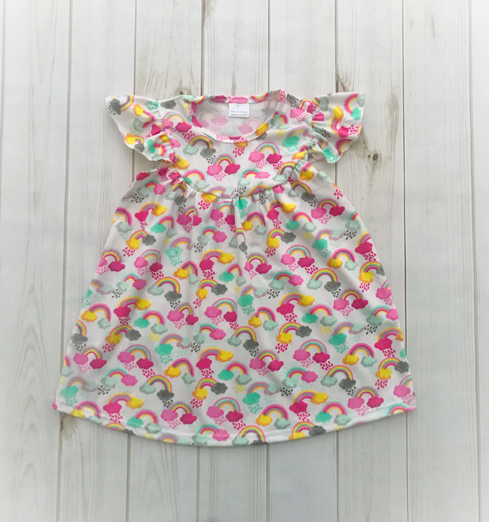 """Over the Rainbow"" Pearl Dress"